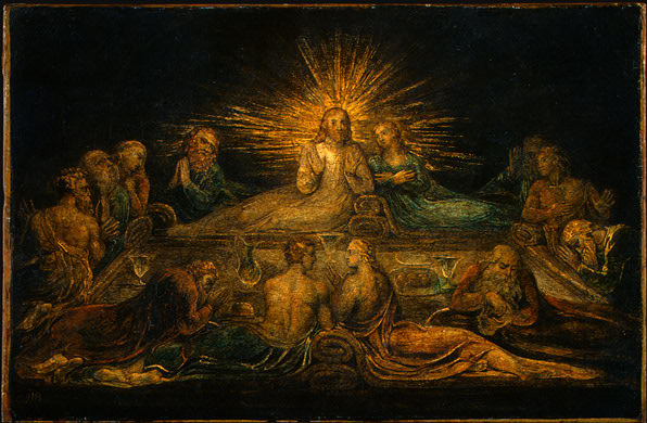 Lessons From the Last Supper TEStazyk : blake last supper 1799 from testazyk.com size 596 x 390 jpeg 90kB